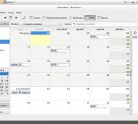 Evolution calendario